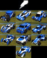 Lightning decal common