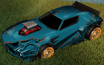 Unmasked decal burnt sienna rare