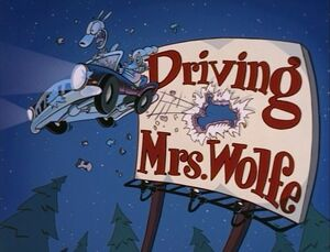 Driving Mrs Wolfe