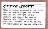 Steve scott crime card 1