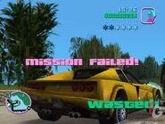 Mission failed screenshot