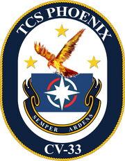 TCS Phoenix crest