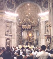 Pietrovaticano papalmass1