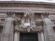 Maria in Monserrato -door detail