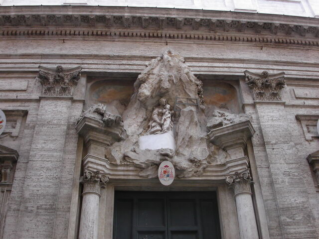 File:Maria in Monserrato -door detail.jpg