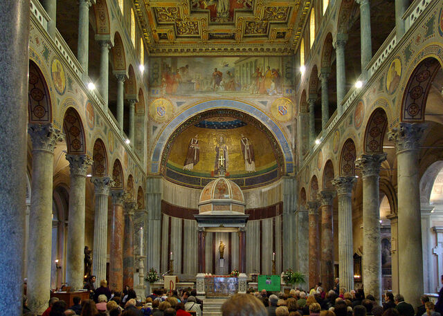 File:Sant'Agnese fuori le mura interior.jpeg