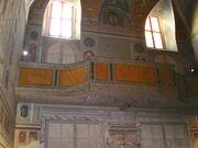 2011 Ambrogio, sacristy balcony