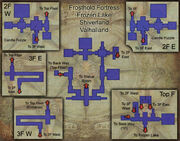 Frosthold Fortress map