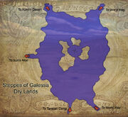 Steppes of Galessa map