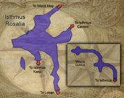 Isthmus map
