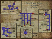 Water Dragon Temple map