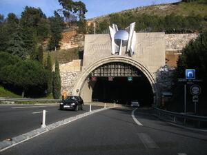 Tunnel de Monaco - Portail Nord.JPG