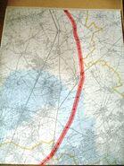 Autoroute du Nord 1957 – Tracé2