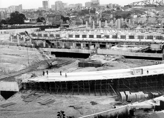 Fichier porte de bagnolet 1966 echangeur bp a3 gare - Gare routiere paris gallieni porte bagnolet ...