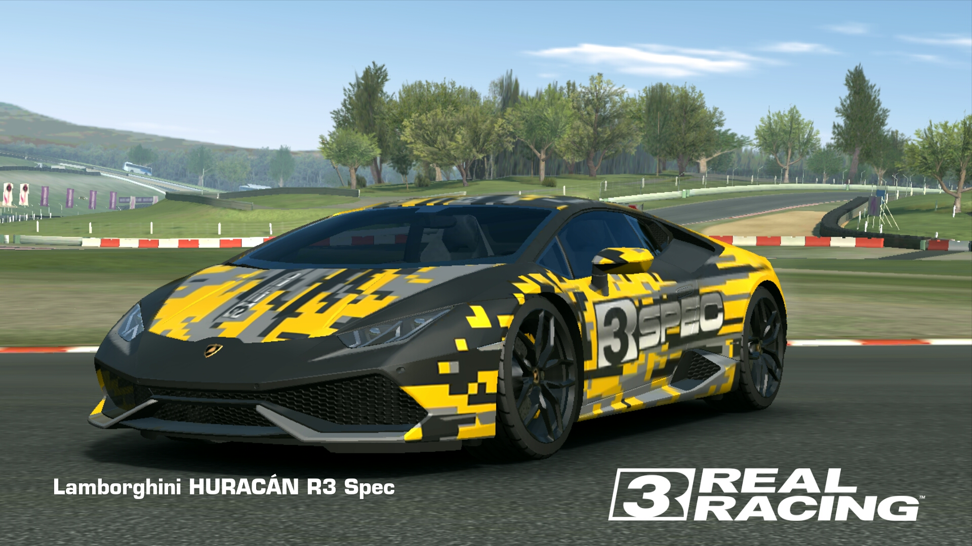 lamborghini hurac n r3 spec real racing 3 wiki fandom powered by wikia. Black Bedroom Furniture Sets. Home Design Ideas