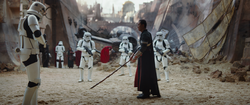 Chirrut Îmwe prepares to fight Stormtroopers.png