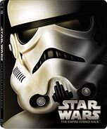 Star Wars Episode V The Empire Strikes Back Blu-ray Steelbook