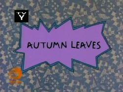 Autumn Leaves Title Card