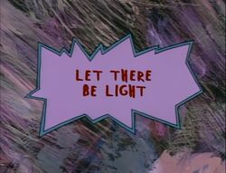 Let There Be Light Title Card