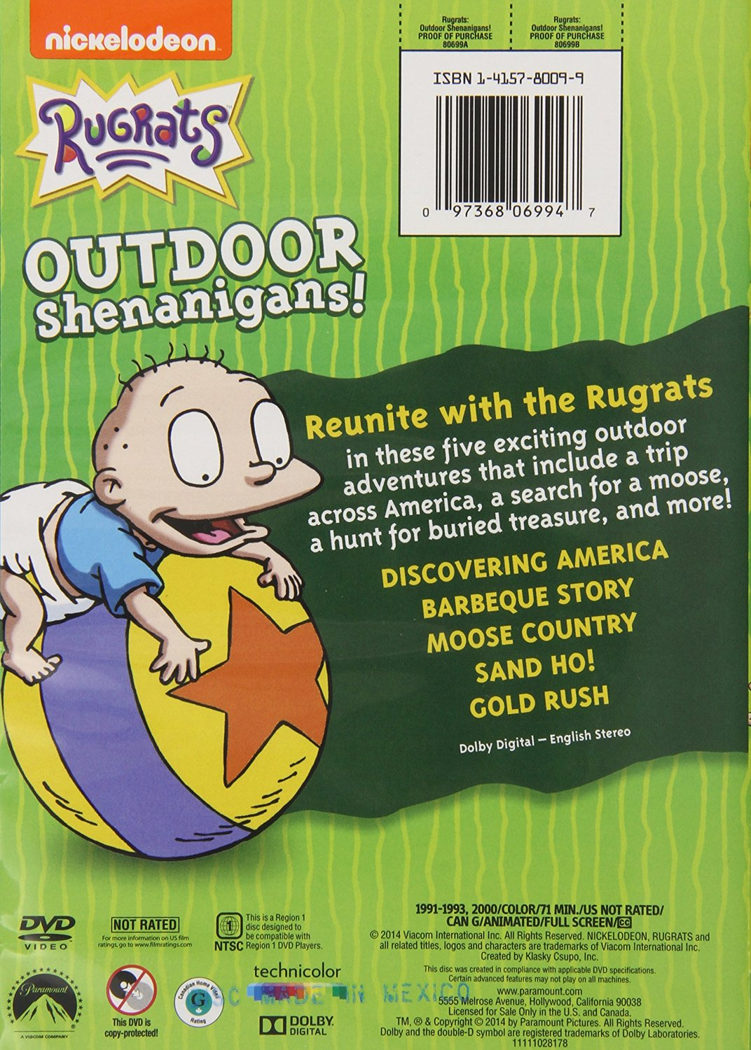 Rugrats In Paris Coco Outdoor Shenanigans!/G...