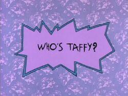 Rugrats - Whos Taffy