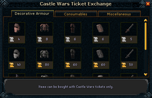 Castle Wars Ticket Exchange (Decorative Armour)