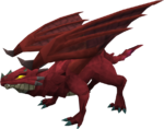 Clan dragon red