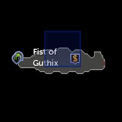 Fist of Guthix Reward Shop location