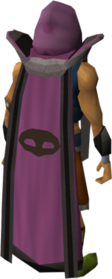 Retro thieving cape (t) equipped