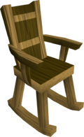 Rocking chair built