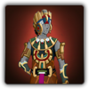 Feathered serpent outfit icon (male)