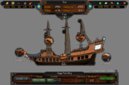 Shipyard (Captain's log) interface