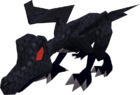 Hatchling dragon (black) pet old