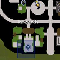 Crystal chest (Prifddinas) location