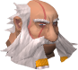 Hammerspike Stoutbeard chathead