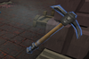 Animated pickaxe