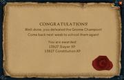 Glophren reward
