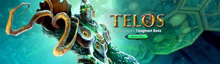 Telos head banner