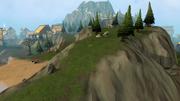 White Wolf Mountain path