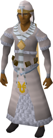 Armadyl vestments equipped