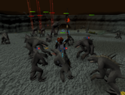 Dagannoth fight