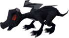 Baby dragon (black) pet old