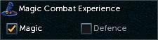 Combat Experience magic