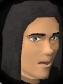 Straight wig chathead