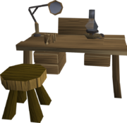 Crafting table 4 in een player-owned house.