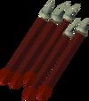 Een paar dragon arrows.
