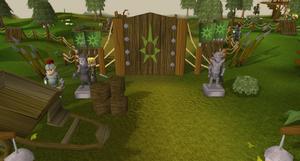Stronghold entrance old