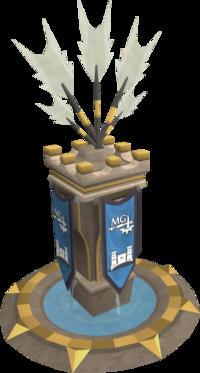 Ornate ranged pillar