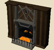 Marble fireplace (citadel)