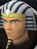 Pharaoh nemes chathead
